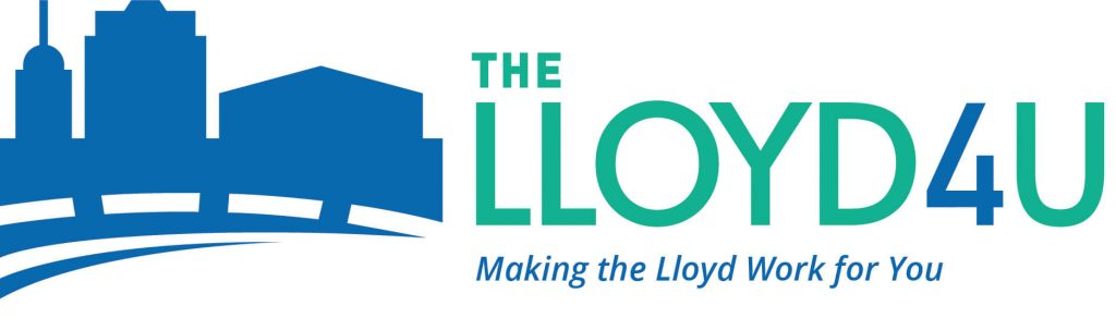 TheLloyd4U - Primary logo with tagline